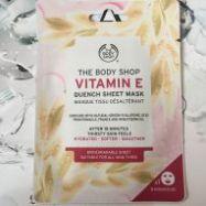 Vitamin E Quench Sheet Mask(Bodyshop)- 1 Piece.
